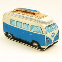 Volkswagen VW Camper Van Canvas Lunch Bag Tote