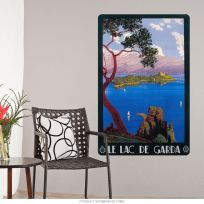 Le Lac De Garda Italy Wall Decal