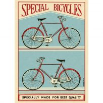 Special Bicycles Vintage Style Poster