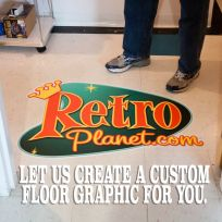 Custom Vinyl Floor Graphic Digitally Printed Decal