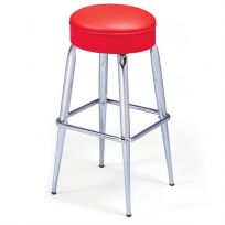 Bar Stool Square Ring Classic Fabric