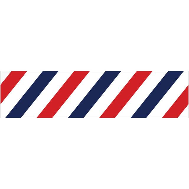Barber Shop Stripes Peel And Stick Wall Border At Retro Planet
