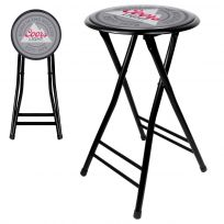 Coors Light Beer Logo Folding Stool 24 in
