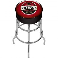 George Killians Irish Red Beer Logo Swivel Bar Stool Game Room Decor