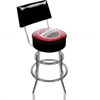 George Killians Irish Red Beer Logo Bar Stool with Back