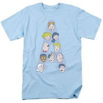 Archie Comics Character Heads Letter A T-Shirt