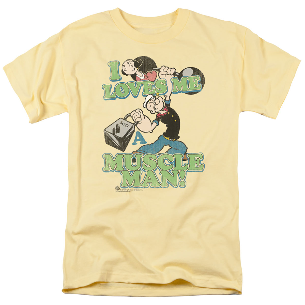 Popeye & Olive Oyl Love A Muscle Man T-Shirt