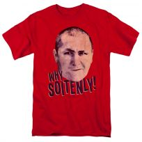 Three Stooges Why Soitenly Curly T-Shirt