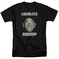 Three Stooges Legalize Shemp T-Shirt