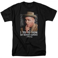 Three Stooges Curly Try To Think But Nothin Happens T-Shirt