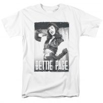 Bettie Page Fancy Page Pinup T-Shirt