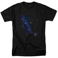 Star Trek TOS Spock Constellations T-Shirt