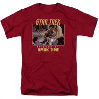 Star Trek TOS Episode 34 Amok Time Kirk Spock T-Shirt