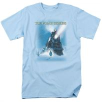 Polar Express Big Train Christmas T-Shirt