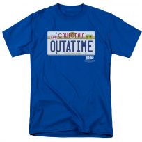Back To The Future Outatime Plate T-Shirt