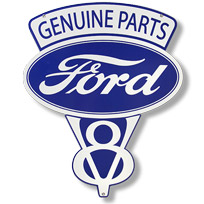Retro Planet Ford Tin Signs